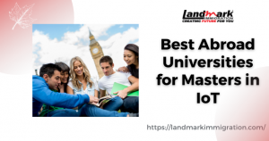 Abroad Masters in IOT Universities